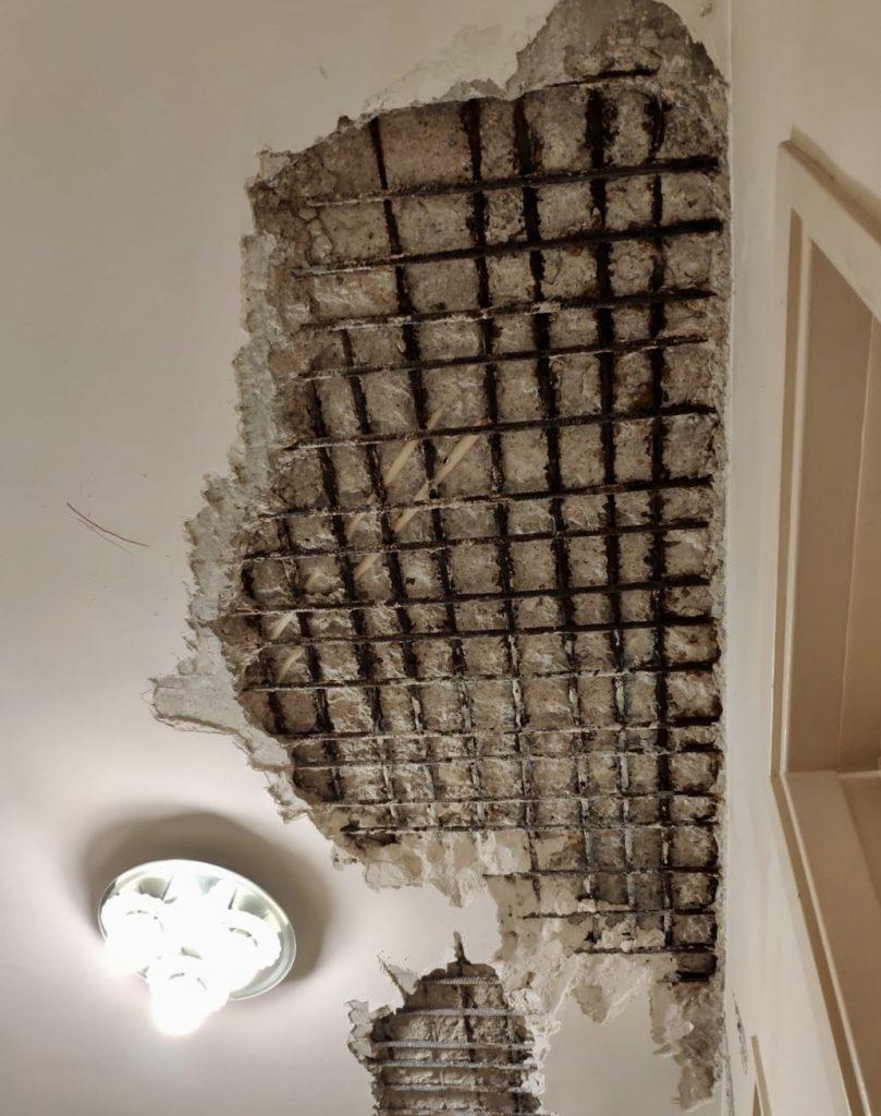 天花牆身滲水漏水,發霉發黑,甚至導致石屎剥落
