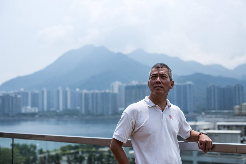 香港中文大學建築系教授吳恩融。攝:盧翊銘/端傳媒